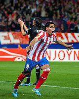 EUROPA  LEAGUE. Atletico de Madrid vs Valencia. 19/4/2012