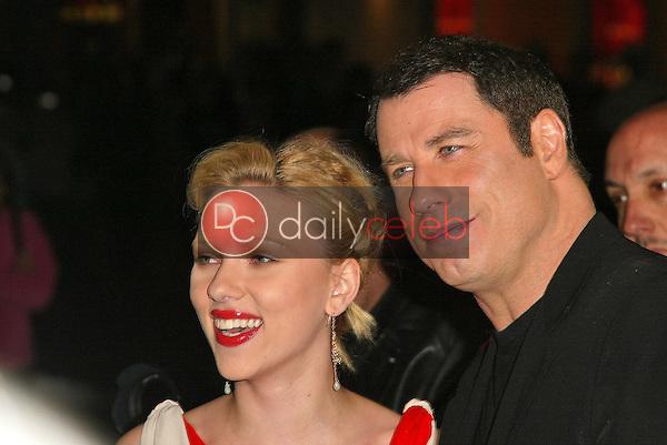 Scarlett Johansson and John Travolta