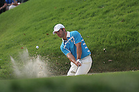 Paul Casey plays from the bunker on the 14th hole in Saturday fourballs at the 37th Ryder Cup at Valhalla Golf Club, Louisville, Kentucky, USA - 20th September 2008 (Photo by Manus O'Reilly/GOLFFILE)
