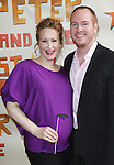 Katie Finneran and Darren Goldstein.attending the Broadway Opening Night Performance of 'Peter And The Starcatcher' at the Brooks Atkinson Theatre on 4/15/2012 in New York City.