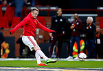 Wayne Rooney of Manchester United warms up during the UEFA Europa League Quarter Final 2nd Leg match at Old Trafford, Manchester. Picture date: April 20th, 2017. Pic credit should read: Matt McNulty/Sportimage