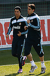 Madrid (11/03/10).-Entrenamiento del Real Madrid..Cristiano Ronaldo y Kaka...© Alex Cid-Fuentes/ ALFAQUI..Madrid (11/03/10).-Training session of Real Madrid c.f..Cristiano Ronaldo And Kaka...© Alex Cid-Fuentes/ ALFAQUI.