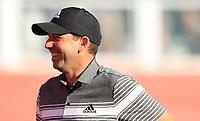 Sergio Garcia (ESP) during the 2nd round of the Abu Dhabi HSBC Championship, Abu Dhabi Golf Club, Abu Dhabi,  United Arab Emirates. 17/01/2020<br /> Picture: Oisin Keniry   Golffile<br /> <br /> <br /> All photo usage must carry mandatory copyright credit (© Golffile   Oisin Keniry)