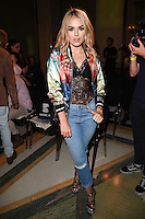 Tallia Storm<br /> at the Pam Hogg catwalk show as part of London Fashion Week SS17, Freemason's Hall, Covent Garden, London<br /> <br /> <br /> &copy;Ash Knotek  D3155  16/09/2016