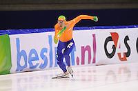 SCHAATSEN: HEERENVEEN: IJsstadion Thialf, 10-01-2013, Seizoen 2012-2013, Essent ISU EK allround training, Jan Blokhuijsen (NED), ©foto Martin de Jong
