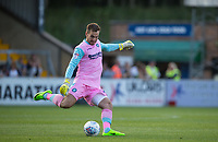 Goalkeeper Scott Brown of Wycombe Wanderers  during the Friendly match between Wycombe Wanderers and AFC Wimbledon at Adams Park, High Wycombe, England on 25 July 2017. Photo by Andy Rowland.