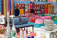 Home furnishing store display.
