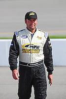 May 2, 2008; Richmond, VA, USA; NASCAR Nationwide Series driver Kenny Hendrick during the Lipton Tea 250 at the Richmond International Raceway. Mandatory Credit: Mark J. Rebilas-