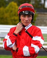 Jockey Jason Watson during Evening Racing at Salisbury Racecourse on 3rd September 2019