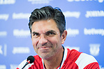 Mauricio Pellegrino during press conference previous to first game of La Liga. August 16, 2019. (ALTERPHOTOS/Francis González)
