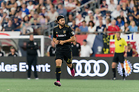 FOXBOROUGH, MA - AUGUST 4: Lee Nguyen #24 of Los Angeles FC formerly of New England Revolution during a game between Los Angeles FC and New England Revolution at Gillette Stadium on August 3, 2019 in Foxborough, Massachusetts.