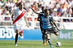 Espanyol's Sergio Garcia during La Liga Match. October 16, 2011. (ALTERPHOTOS/Alvaro Hernandez)
