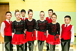 l-r  Joe Rudden, Alice O'Donoghue, Liam Gayley, Aishling O'Donovan, Leah Murphy, Nathan Counihan, Lauren Horgan and Scott O'Meara from Killarney. at the Listowel Fleadh Ceoil Munster Junior Set and Ceilí Dancing Finals  St Michaels Gym Hall, Listowel on Friday