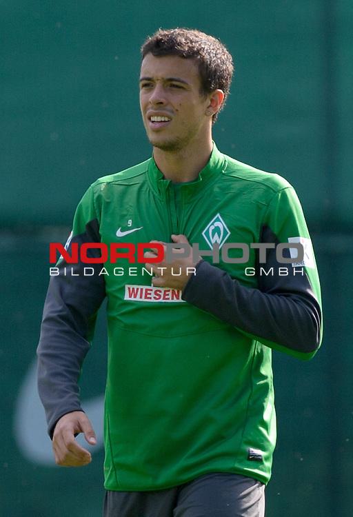 13.09.2013, Trainingsgelaende, Bremen, GER, 1.FBL, Training Werder Bremen, im Bild Franco Di Santo (Bremen #9)<br /> <br /> Foto &copy; nph / Frisch