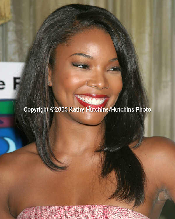 Gabrielle Union arriving at the .Family Matters Benefit..Friends of the Family Annual Gala IHO Cedric the Entertainer.Regent Beverly Wilshire Hotel.Los Angeles, CA.June 3, 2005.©2005 Kathy Hutchins / Hutchins Photo