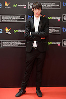 "Actor Francesc Colomer posses in the photocall of the ""Vivir es facil con los ojos cerrados"" film presentation during the 61 San Sebastian Film Festival, in San Sebastian, Spain. September 24, 2013. (ALTERPHOTOS/Victor Blanco) /Nortephoto"