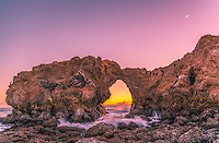 Sunset Over Arch Rock at Cameo Shores Corona Del Mar