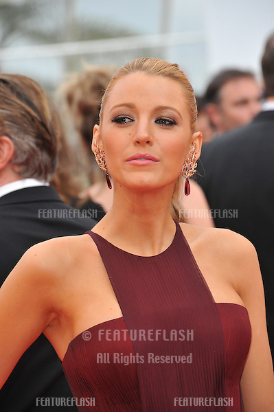 Blake Lively at the gala premiere of &quot;Grace of Monaco&quot; at the 67th Festival de Cannes.<br /> May 14, 2014  Cannes, France<br /> Picture: Paul Smith / Featureflash