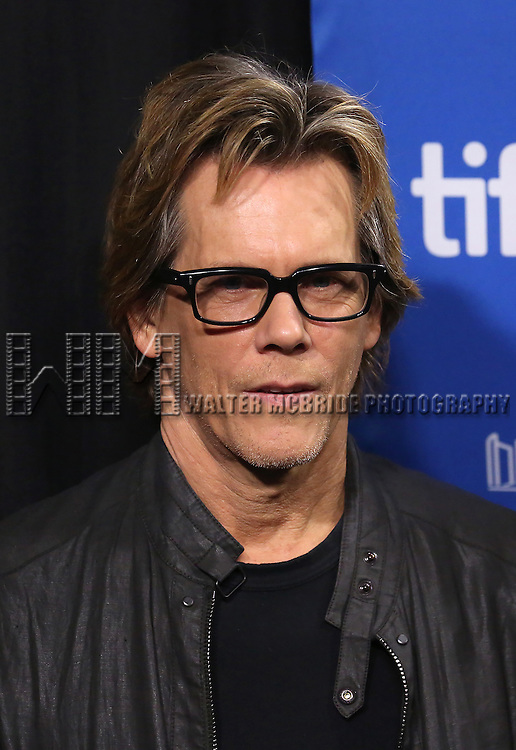 Kevin Bacon attends the 'Black Mass' photo call during the 2015 Toronto International Film Festival at Roy Thomson Hall on September 14, 2015 in Toronto, Canada.
