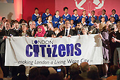 "A ""Day for Civil Society"" organized by Citizens UK / London Citizens to celebrate 10 years of the Living Wage Campaign, launch a National Living Wage Foundation and call for the living wage to be adopted nationally.  Central Hall, Westminster."