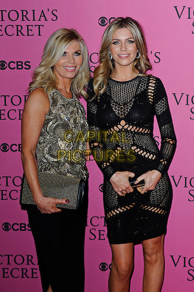 LONDON, ENGLAND - DECEMBER 2:  Abbey Clancy attends the pink carpet for Victoria's Secret Fashion Show 2014, Earls Court on December 2, 2014 in London, England.<br /> CAP/MAR<br /> &copy; Martin Harris/Capital Pictures