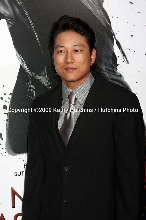 """Sung Kang.arriving at the Premiere Of Warner Bros. """"Ninja Assassin"""" .Grauman's Chinese Theater.Los Angeles,  CA.November 19, 2009.©2009 Kathy Hutchins / Hutchins Photo."""