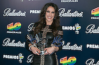 Malu attend the 40 Principales Awards at Barclaycard Center in Madrid, Spain. December 12, 2014. (ALTERPHOTOS/Carlos Dafonte) /NortePhoto