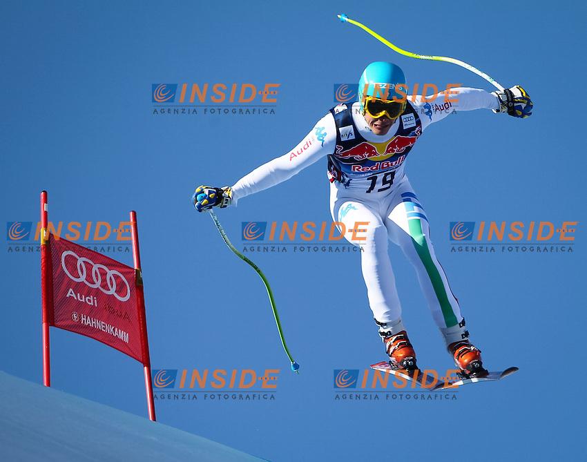 Christof Innerhofer of Italy .26.01.2013, Streif, Kitzbuehel.Sci Coppa del Mondo .Discesa Libera Uomini .Foto EXPA/ Sammy Minkof / Insidefoto.ITALY ONLY