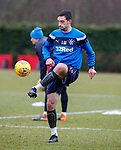 16.3.2018: Rangers training:<br /> Lee Wallace