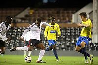 Moussa Dembele scores Fulham's opening goal