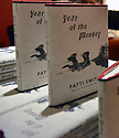 MIAMI, FL - DECEMBER 17: General view of books on display during An Evening With author/musician Patti Smith in conversation with Cristina Favretto about Patti Smith new book 'Year of the Monkey' at Adrienne Arsht Center for the Performing Arts - Knight Concert Hall  in partnership with Books & Books and the Miami Book Fair on December 17, 2019 in Miami, Florida. ( Photo by Johnny Louis / jlnphotography.com )