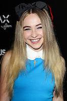 HOLLYWOOD, LOS ANGELES, CA, USA - OCTOBER 30: Sabrina Carpenter arrives at the Los Angeles Premiere Of RADiUS-TWC's 'Horns' held at ArcLight Hollywood on October 30, 2014 in Hollywood, Los Angeles, California, United States. (Photo by Celebrity Monitor)