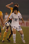 Group Stage B Korea VS Australia during the 2008 AFC Women's Asian Cup, 31 May 2008, in Thong Nhat Stadium, Ho Choi Minh City, Vietnam. Photo by World Sport Group