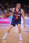 League ACB-ENDESA 2017/2018. Game: 1.<br /> FC Barcelona Lassa vs Baskonia: 87-82.<br /> Adrien Moerman.