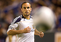 LA Galaxy forward Landon Donovan (10) ball watching. The LA Galaxy and Toronto FC played to a 0-0 draw at Home Depot Center stadium in Carson, California on Saturday May 15, 2010.  .