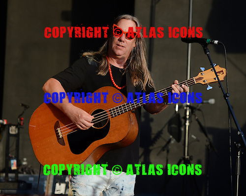 BOCA RATON, FL - JULY 10: Brian Ritchie of the Violent Femmes performs at the Sunset Cove Ampitheatre on July 10, 2015 in Boca Raton, Florida.  Photo by Larry Marano © 2015