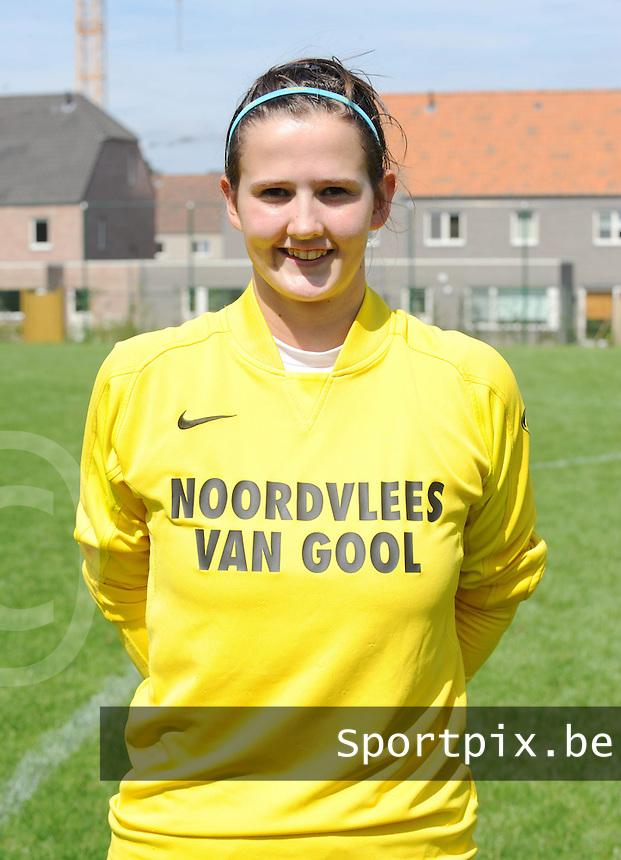 K Achterbroek VV : Ellen Vermeiren.foto DAVID CATRY / VROUWENTEAM.BE