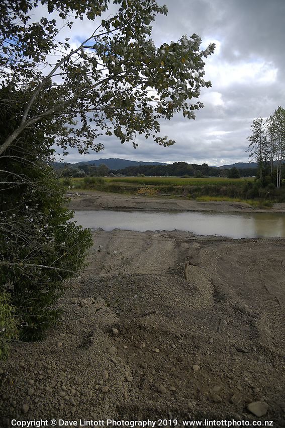 Bay Of Plenty Regional Council Waimana River development in Bay Of Plenty, New Zealand on Thursday, 7 March 2019. Photo: Dave Lintott / lintottphoto.co.nz