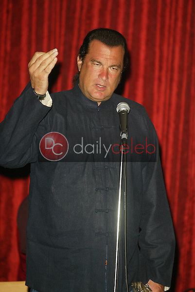 """Steven Seagal<br /> At the """"Sounds of the Sacred, Songs of the Earth"""" awards gala, The Friars of Beverly Hills, Beverly Hills, CA 09-15-05<br /> Jason Kirk/DailyCeleb.com 818-249-4998"""
