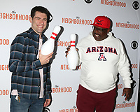 """LOS ANGELES - NOV 18:  Max Greenfield, Cedric the Entertainer at the The Neighbohood Celebrates the """"Welcome to Bowling"""" Episode at Pinz Bowling Alley on November 18, 2019 in Studio City, CA"""