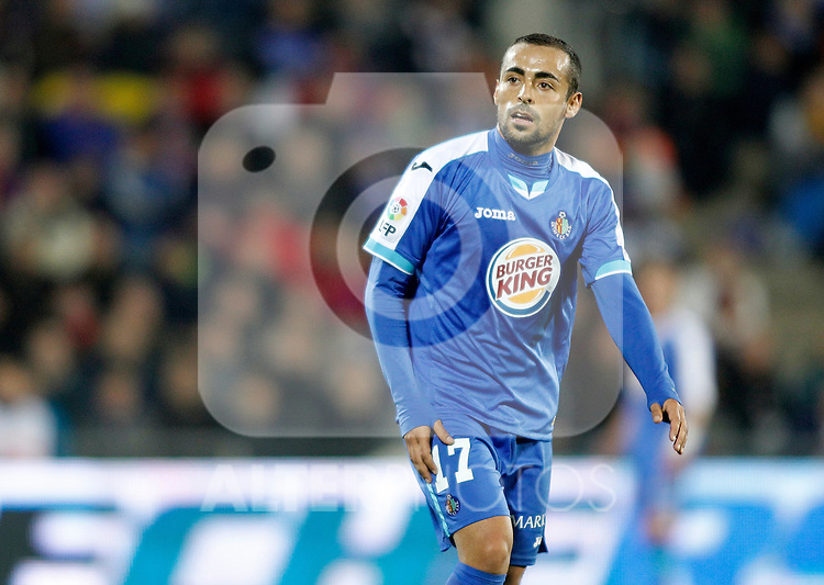 Getafe's Diego Castro during La Liga match. November 26, 2011. (ALTERPHOTOS/Alvaro Hernandez)