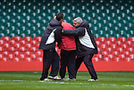 040209 Wales rugby press conference and training