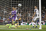 Cristiano Ronaldo of Real Madrid scores the third goal, his second, during the Champions League Final match at the Millennium Stadium, Cardiff. Picture date: June 3rd, 2017.Picture credit should read: David Klein/Sportimage