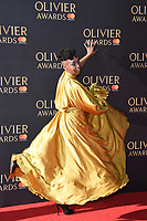 Noma Dumezweni<br /> arriving for the Olivier Awards 2017 at the Royal Albert Hall, Kensington, London.<br /> <br /> <br /> &copy;Ash Knotek  D3245  09/04/2017