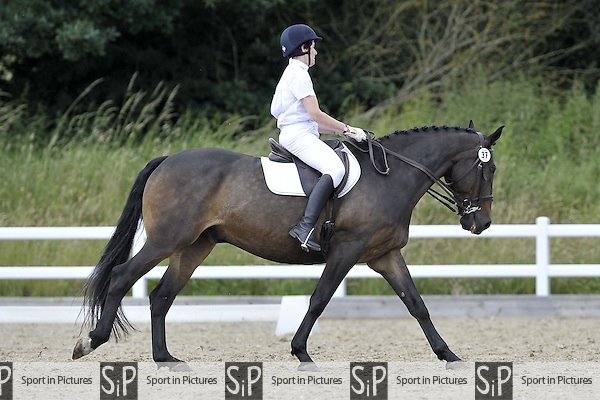Class 5. British Dressage (BD). Brook Farm Training Centre. Essex. 24/06/2016. MANDATORY Credit Garry Bowden/Sportinpictures - NO UNAUTHORISED USE - 07837 394578