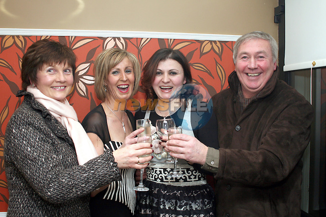 Owners Martina Fitzpatrick and Eriona Ferris with Fidelma and Paidín O'Hare at the Official Opening of Bistro BT in Bettystown...Photo NEWSFILE/Jenny Matthews.(Photo credit should read Jenny Matthews/NEWSFILE)....This Picture has been sent you under the condtions enclosed by:.Newsfile Ltd..The Studio,.Millmount Abbey,.Drogheda,.Co Meath..Ireland..Tel: +353(0)41-9871240.Fax: +353(0)41-9871260.GSM: +353(0)86-2500958.email: pictures@newsfile.ie.www.newsfile.ie.FTP: 193.120.102.198.