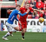 03.03.2019 Aberdeen v Rangers: Joe Worrall and Sam Cosgrove