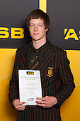 Wrestling winner Shane Andrew fromPukekohe High School. ASB College Sport Young Sportsperson of the Year Awards held at Eden Park, Auckland, on November 24th 2011.