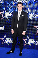 John Newman arriving for the Global Awards 2018 at the Apollo Hammersmith, London, UK. <br /> 01 March  2018<br /> Picture: Steve Vas/Featureflash/SilverHub 0208 004 5359 sales@silverhubmedia.com