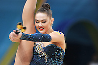 August 29, 2013 - Kiev, Ukraine - ALINA MAKSYMENKO of Ukraine performs at 2013 World Championships.